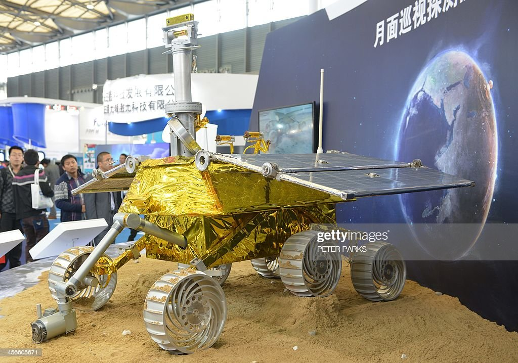 CHINA-SCIENCE-SPACE-MOON : News Photo
