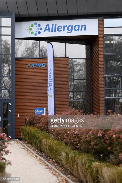 A photo taken on November 7 2017 shows the Allergan group headquarters in Pringy eastern France New revelations on November 6 2017 from the 'Paradise...