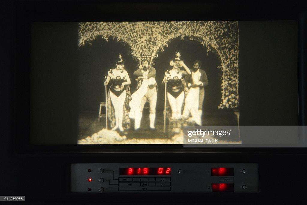 CZECH-FRANCE-CINEMA-MELIESE-HISTORY : Nachrichtenfoto