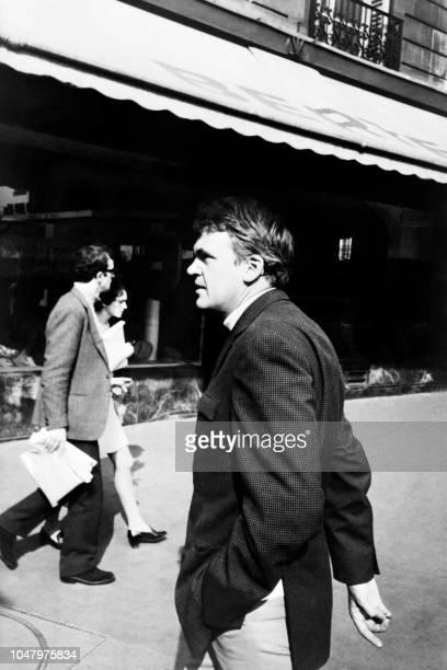 Photo taken on October 14 1973 shows Czechborn French writer Milan Kundera walking in Paris