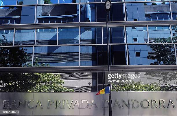 A photo taken on September 10 2013 shows the headquarters of the Banca Privada d'Andorra bank in AndorralaVielle in the principality of Andorra AFP...