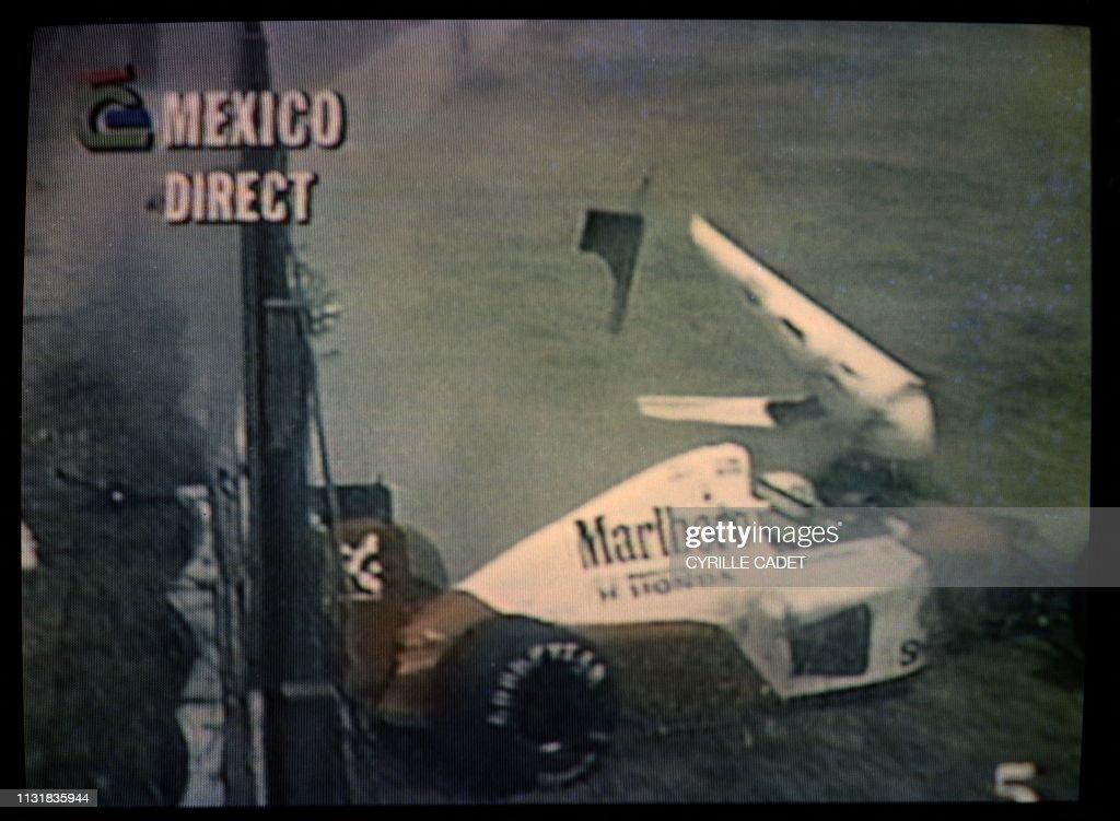 F1-MEXICO-SENNA : News Photo
