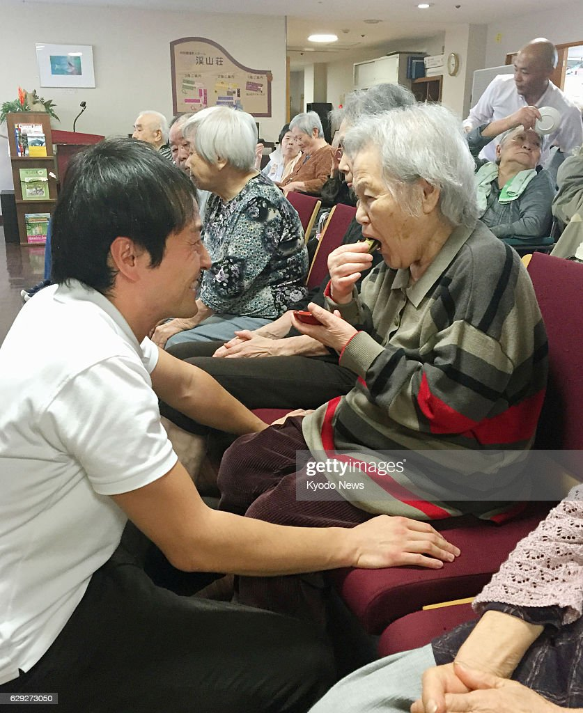 Aged-care homes paid to improve self-reliance of residents : Nachrichtenfoto