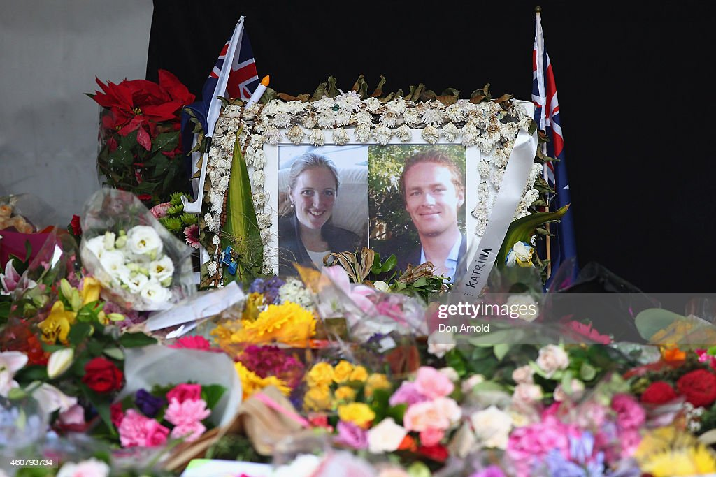 Flower Tributes For Sydney Siege Victims Removed From Martin Place : News Photo