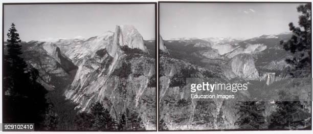 BW photo Yosemite National Park California