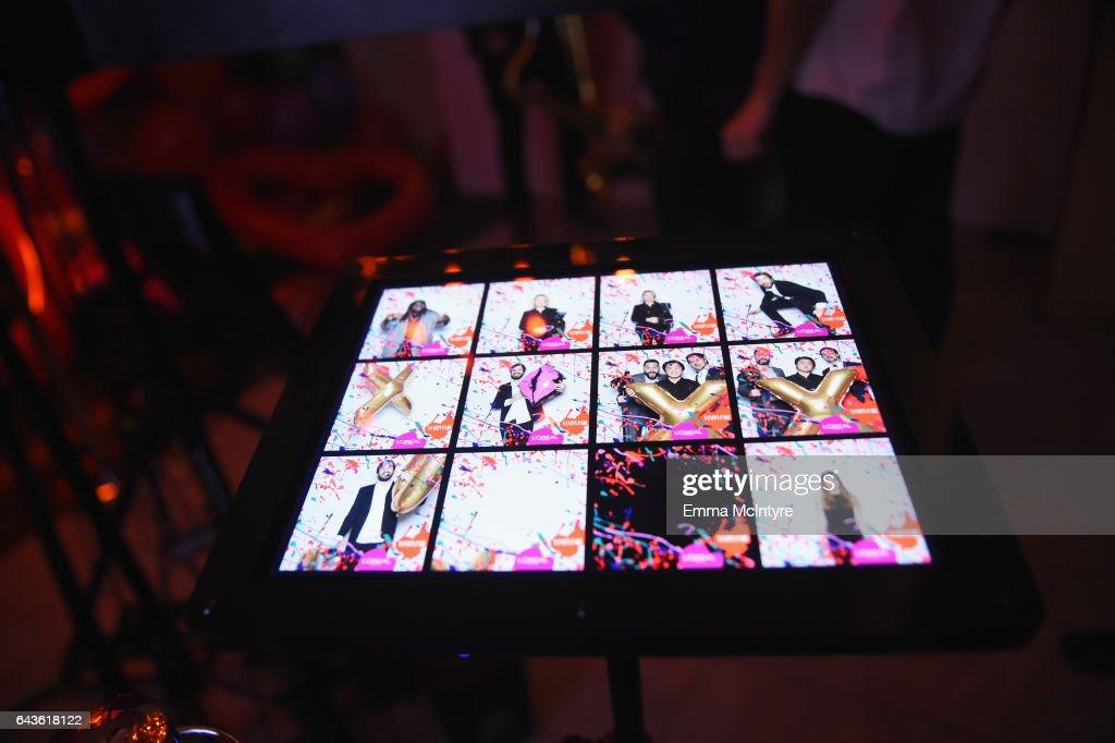 Photobooth on display at Vanity Fair and L'Oreal Paris Toast