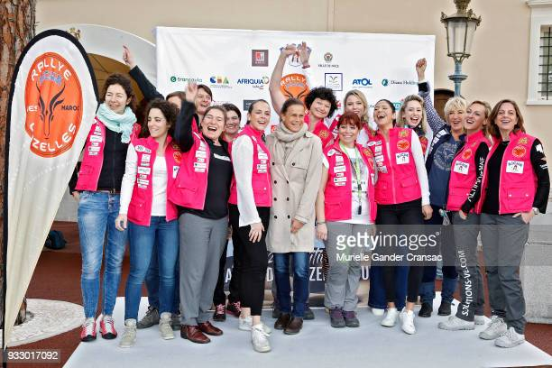 Photocall 28th 'Rallye Aicha Des Gazelles Du Maroc' on March 17 2018 in Monaco Monaco