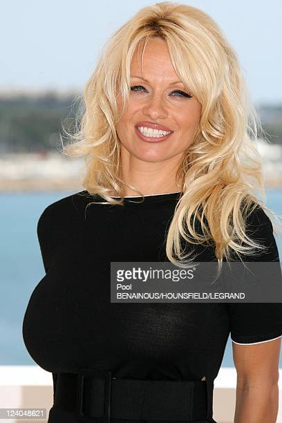 Photocall 'Blonde and Blonder' at 60th Cannes International Film Festival France On May 18 2007 Pamela Anderson