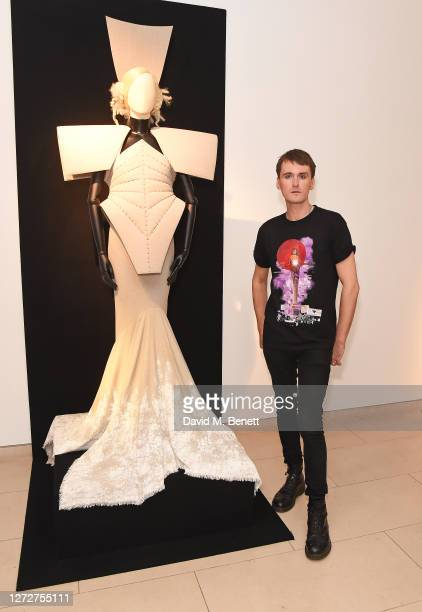 """Photocall celebrating designer Gareth Pugh's return to London Fashion Week with a new multidisciplinary art project """"The Reconstruction"""", in support..."""