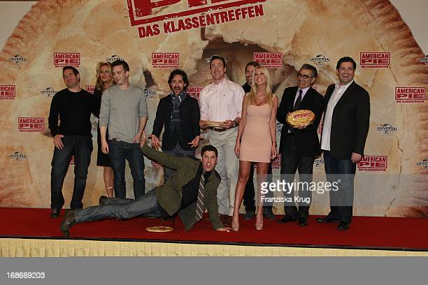 Photocall for the movie American Pie Reunion in Berlin on 29th of March