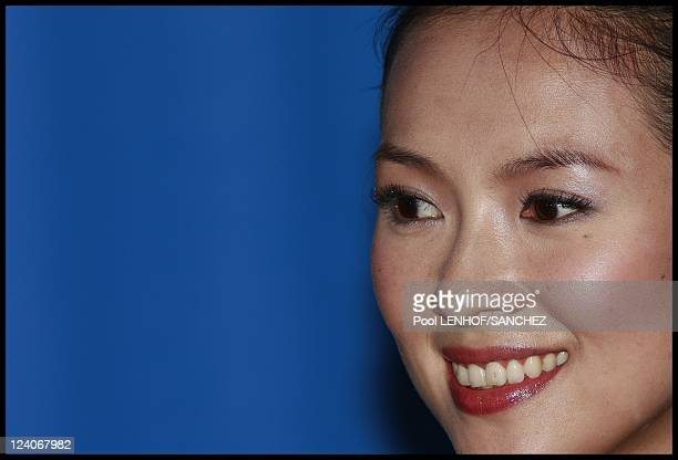 Photocall Forever enthralled actors Zhang Ziyi Ando Masanobu and Leon Lai In Berlin Germany On February 10 2009 Actors Zhang Ziyi Ando Masanobu and...