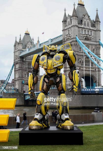 Photocall in support of Paramount Pictures' film 'Bumblebee'â at Tower Bridge, Potters Field Park on December 5, 2018 in London, United Kingdom.