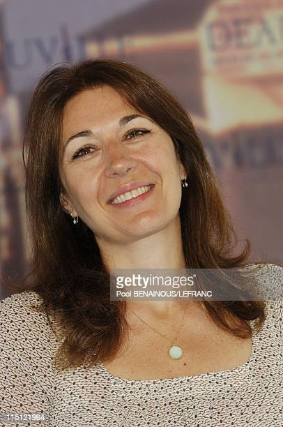 Photocall La vie d'artiste at the 33rd Deauville American Film festival in Deauville France on September 02 2007 Valerie Benguigui