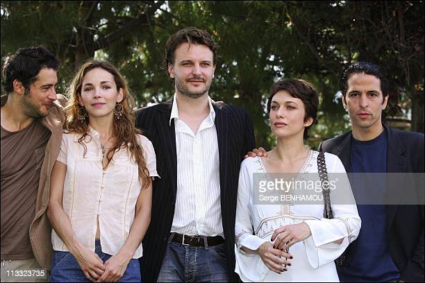 PhotoCall Le Maitre Du Zodiaque At 46Th MonteCarlo Tv Festival On June 30Th 2006 In Monte Carlo Monaco Here Stephan Guerin Tillie Claire Keim Yannis...