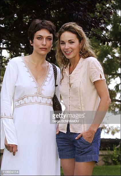 Photo-Call Le Maitre Du Zodiaque At 46Th Monte-Carlo Tv Festival - On June 30Th, 2006 - In Monte Carlo, Monaco - Here, Natacha Lindinger And Claire K...