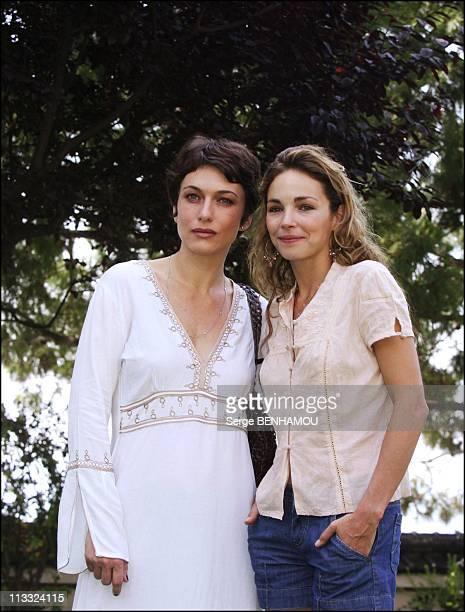 Photo-Call Le Maitre Du Zodiaque At 46Th Monte-Carlo Tv Festival - On June 30Th, 2006 - In Monte Carlo, Monaco - Here, Natacha Lindinger And Claire...