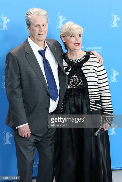 Photocall Love and Mercy vl Producer Brian Wilson Melinda Ledbetter