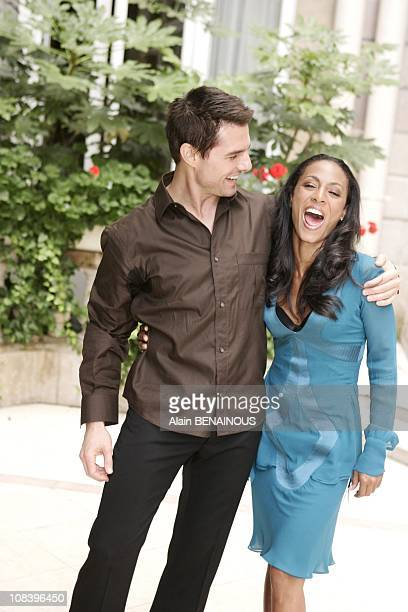 Photocall of 'Collateral' with Tom Cruise and Jada PinkettSmith in Paris France on August 30 2004