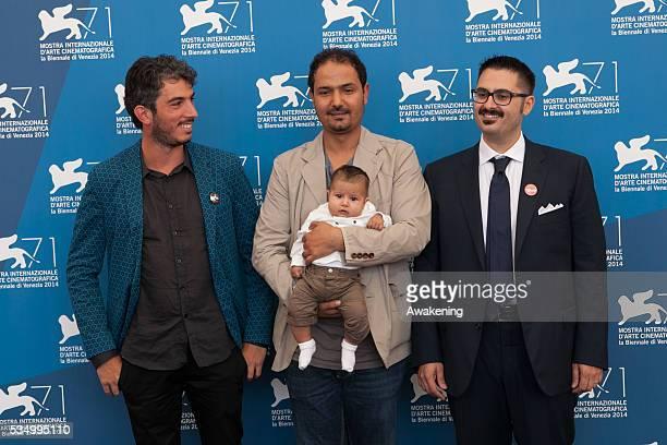 Photocall of 'Io sto con la sposa' during the 71st Venice Cinema Festival