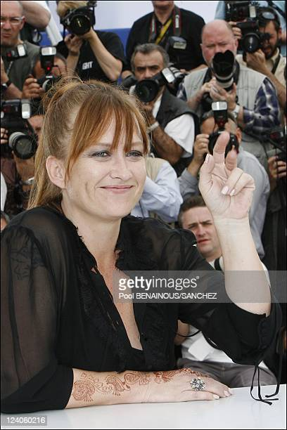 Photocall of 'Surveillance' at the Cannes film festival In Cannes France On May 21 2008 Jennifer Chambers Lynch
