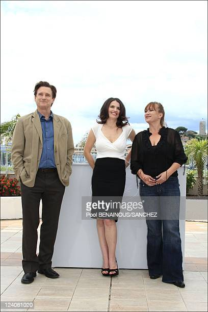 Photocall of 'Surveillance' at the Cannes film festival In Cannes France On May 21 2008 Bill Pullman Julia Ormond Jennifer Chambers Lynch