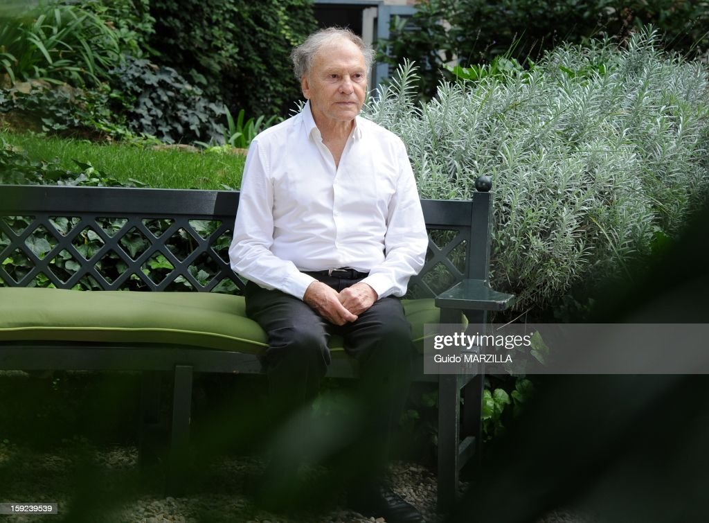 Photocall of the film 'Amour', Palme d'Or at the 2012 Cannes film festival, with french actor Jean-Louis Trintignant on October 09, 2012 in Rome, Italy.