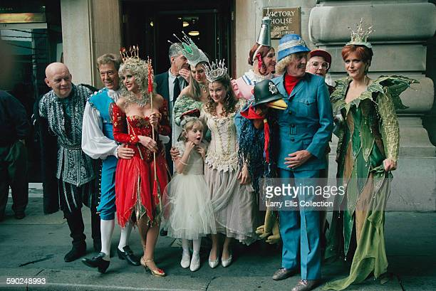 A photocall outside Victory House on Regent Street for the launch of the 1995 Cadbury's Pantomime Season and the switchingon of the Regent Street...