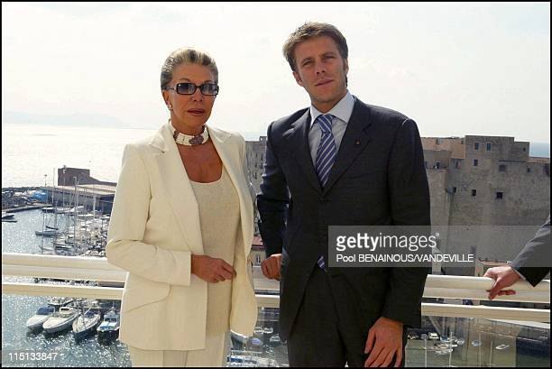 Photocall the Savoy in Naples Italy on March 17 2003