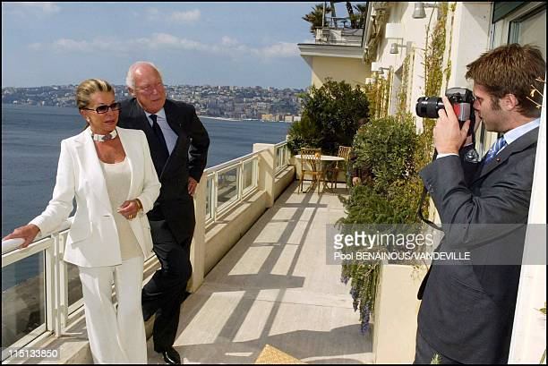 Photocall the Savoy in Naples, Italy on March 17, 2003.