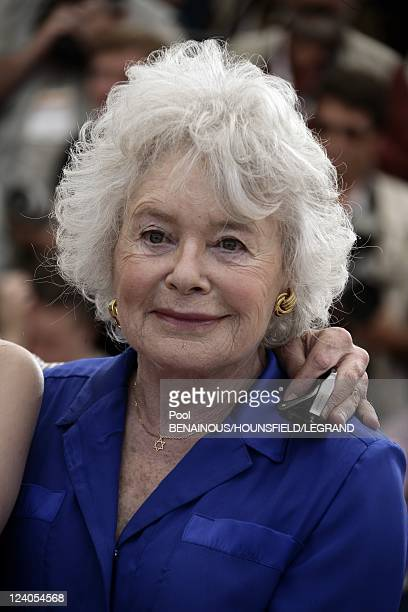 Photocall 'Une vieille maitresse' at the 60th Cannes International Film Festival In Cannes France On May 25 2007 Claude Sarraute