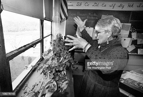 12/18/97 photog CRAIG HERNDON location Belvedere Elementry School Arnold MD caption The Belvedere Elementry School in Arnold Maryland is an aging...
