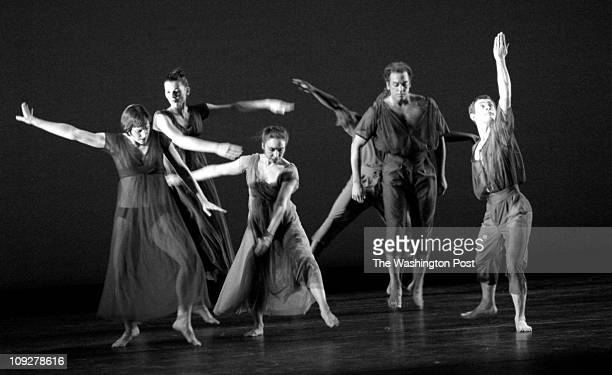 02/21/98 photog CRAIG HERNDON reporter KAUFMAN location George Mason Arts Concert Hall caption Mark Morris Dance Group performs a new work titled '...