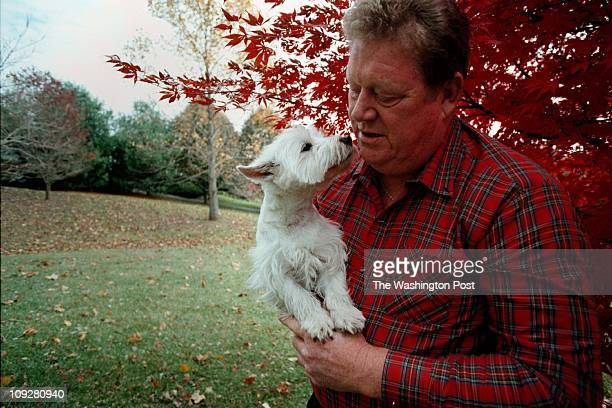 11/5/97 photog CRAIG HERNDON reporter Sally Squires location Boog Powell' home in Hunt Valley MD caption former Baseball great Boog Powell once of...