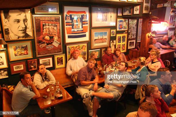 Michael Temchine/FTWP LOCATION Bugsy's Sports Bar 111 King St Alexandria VA CAPTION Bugsy's Sports Bar is the ultimate hockey bar with photos and...