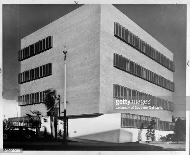 Photograph '$500000 258 South La Cienega Boulevard Owner Dr George Pines Architect Douglas Honnold John Rex Builders Chottiner Gumbiner' handwritten...