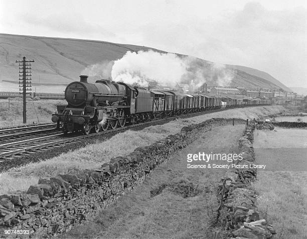 Photograph by Bishop Eric Treacy of Jubilee Class steam locomotive No 45644 leaving Tebay Cumbria on the West Coast Main Line to Scotland It was...
