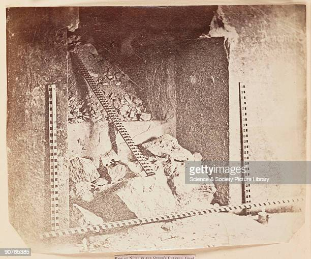 Photograph by Charles Piazzi Smyth The Great Pyramid of Cheops is the largest of three major pyramids at Giza A number of shafts and passages run...