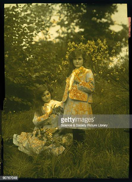 Photograph by E J Laing Autochromes were the first commercially available colour process invented by Auguste and Louis Lumiere patented in 1904 and...