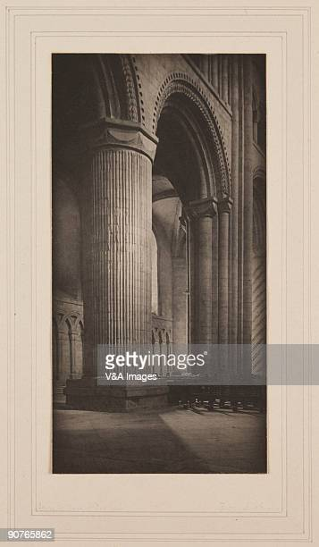 Photograph by Frederick Henry Evans . Durham Cathedral began construction in 999 and was finally completed in 1133. It contains the remains of...