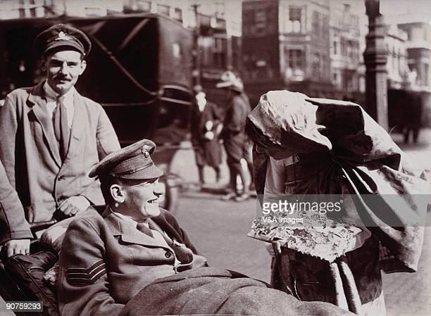 UNITED KINGDOM JULY 19 Photograph by Horace W Nicholls a photojournalist who documented the First World War including a famous series of pictures...
