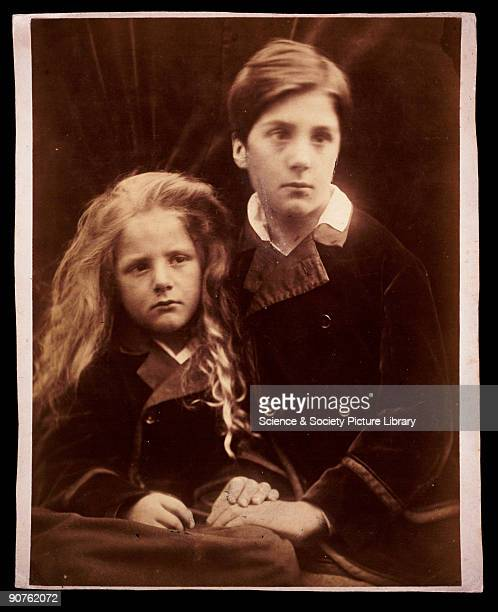 Photograph by Julia Margaret Cameron of Lionel Holland and Henry Holland. Cameron�s photographic portraits are considered among the finest in the...