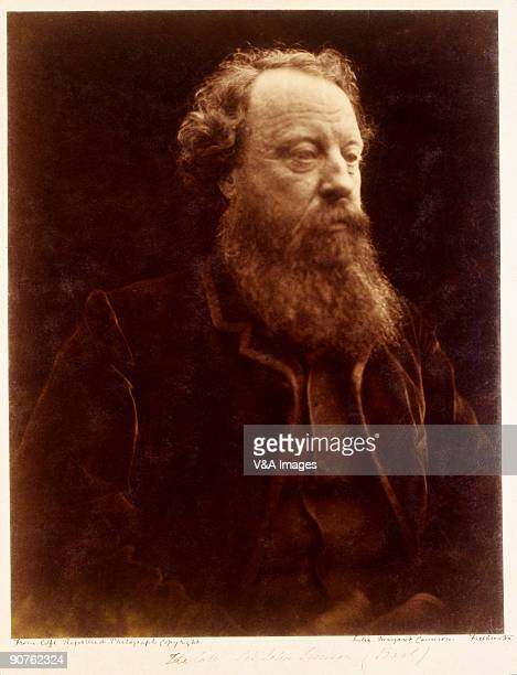 Photograph by Julia Margaret Cameron whose photographic portraits are considered among the finest in the early history of photography. She set up a...