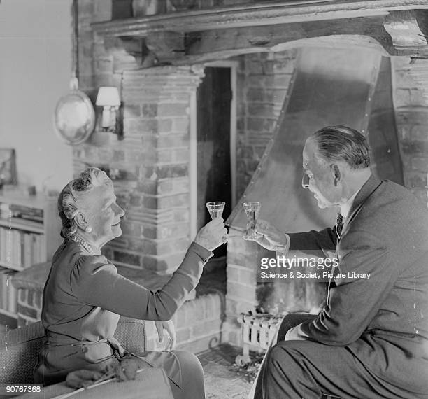 A photograph by Photographic Advertising Dress decor and surroundings suggesting contentment in retirement The advantage of stereotypical photographs...