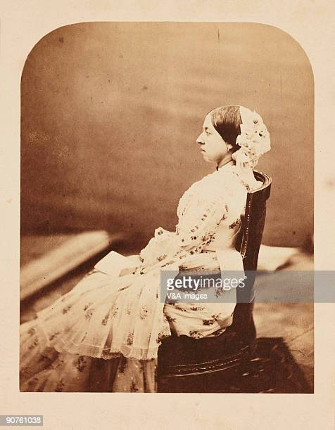 UNITED KINGDOM JANUARY 26 Photograph by Roger Fenton of Queen Victoria Roger Fenton was commissioned several times to photograph the Royal Family...