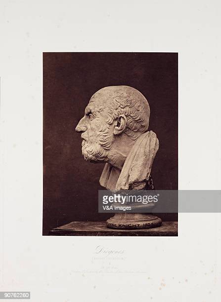 'UNSPECIFIED JANUARY 26 Photograph by Roger Fenton This Classical sculpture is of the Greek philosopher Diogenes of Sinope most famous as the tutor...