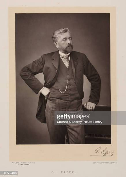 Photograph by Walery with Eiffel�s facsimile signature Alexandre Gustave Eiffel Eiffel designed several notable bridges and viaducts before working...