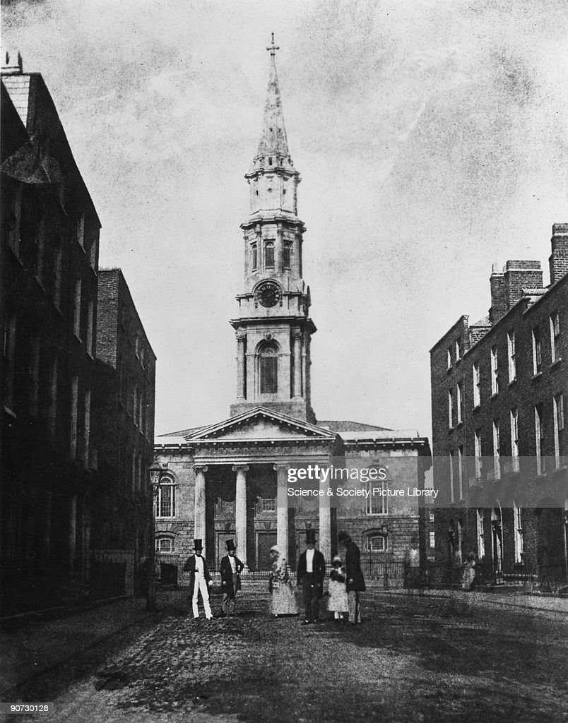 St Georges Church, Hardwicke Place, Dublin, 1843. : News Photo