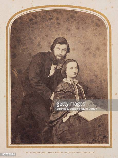 Photograph from a collection of 19 photographs relating to Sir William Henry Perkin , his relations, and the synthetic dyestuffs industry. Jemima...