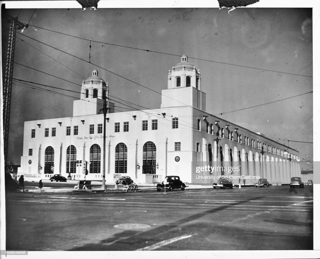 Photograph New United States Post Office Terminal Annex At