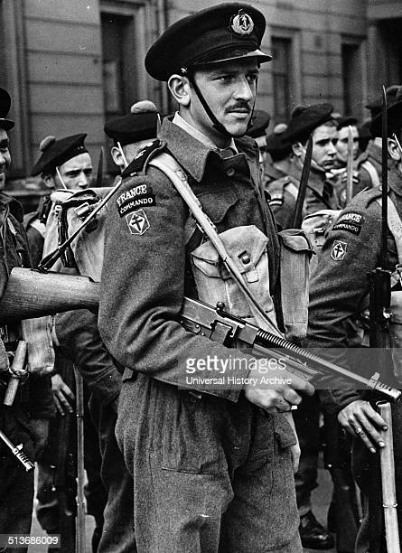 Photograph of a Free French Navy Commando Dated 1941